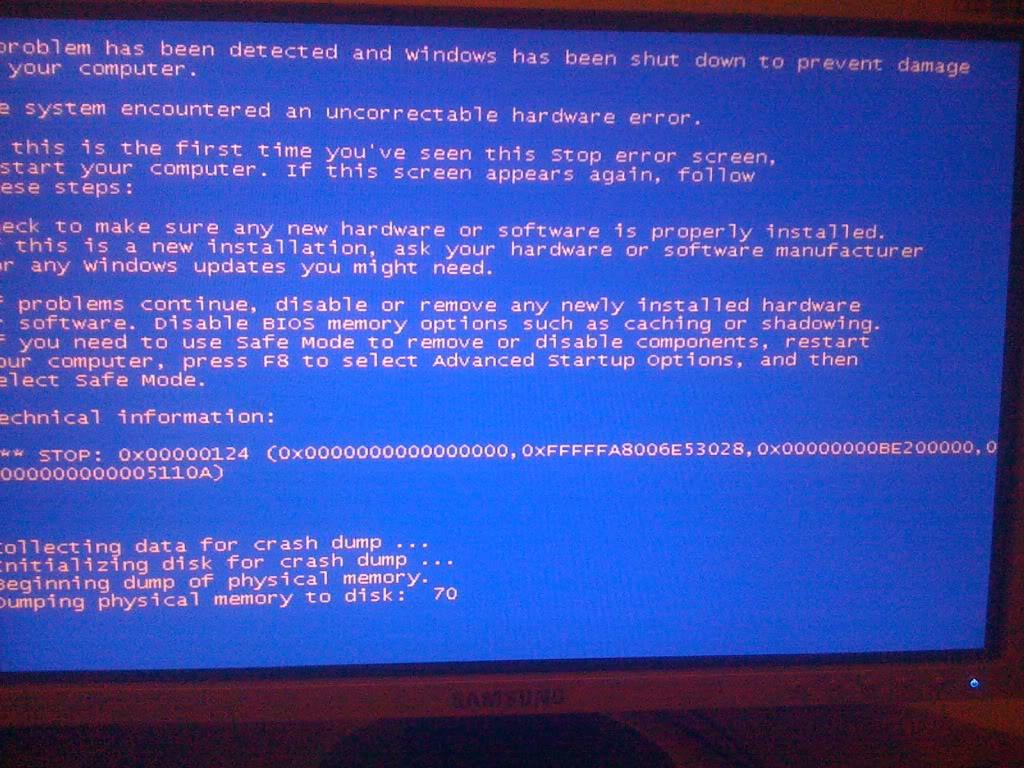Синий экран смерти что делать windows 7 0x00000051